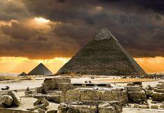 Scans laten twee geheime kamers zien in Piramide van Cheops   Wibnet.nl
