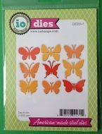 Impression Obsession craft die Medium BUTTERFLIES Spring butterfly