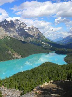 Breathtaking Peyto Lake, Canadian Rockies
