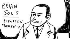 Brian Solis at PivotCon #pivotcon, #briansolis, #doodle.ly