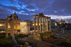 There's just something magical about visiting the Roman Forum. Every time I'm here I feel overwhelmed by the history of this incredible archeological site. #italy #rome #bestvacations #beautifuldestinations #globaldaily #italia #roma by elialocardi