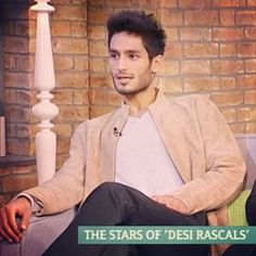 """""""The stars of Desi Rascals"""" says it all… A heartthrob of the screen and an all round nice guy, Shmoyel has won his way into our hearts…"""