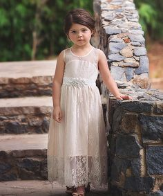 Another great find on #zulily! Rose Alexandra Dress - Toddler & Girls by Trish Scully Child #zulilyfinds