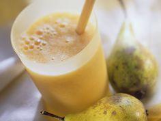Birnen-Orangen-Smoothie - smarter - Kalorien: 124 Kcal - Zeit: 10 Min.   eatsmarter.de