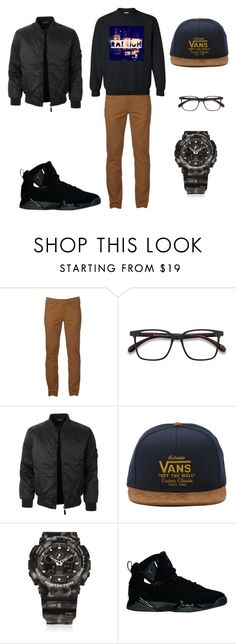 Welcome to the R by coloraleigh on Polyvore featuring Urban Pipeline, LE3NO, NIKE, G-Shock, Vans, men's fashion, menswear, fresh, jordans and coloraleigh