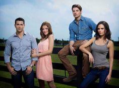 """Dallas"" stars jesse Metcalfe, Julie Gonzalo, Jordana Brewster and Josh Henderson."