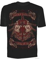 Se7en Deadly Sins - House of Sin Tee  #goth #gothic #punk #punkrock #rockabilly #psychobilly #pinup #inked #alternative #alternativefashion #fashion #altstyle #altfashion #clothing #clothes #vintage #noir #infectiousthreads #horrorpunk #horror #steampunk #zombies #burningmanclothing #shrine clothing