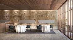 Ricard Camarena Restaurant in Valencia by Francesc Rifé Studio Cafe Restaurant, Restaurant Design, Valencia Restaurant, Restaurant Interiors, Restaurants, Bar Design Awards, Art Deco Buildings, Interior Design Studio, Contemporary Architecture
