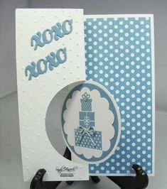 handmade birthday card ... thinlits circle swing card ... luv the festive look of polka dot papers ... Stampin' Up!