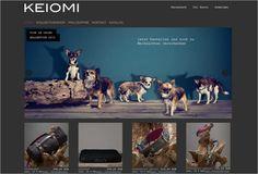 www.keiomi.com – Screenshot des neuen Online-Shops