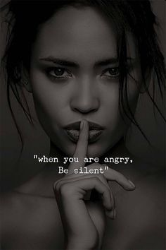 Positive Quotes : QUOTATION – Image : Quotes Of the day – Description When you are angry. Be silent. Sharing is Power – Don't forget to share this quote ! Fool Quotes, Wise Quotes, Attitude Quotes, Daily Quotes, Great Quotes, Motivational Quotes, Inspirational Quotes, Positiv Quotes, Reality Quotes
