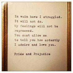 Pride amd prejudice