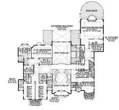 Plan W32128AA: Floor 2