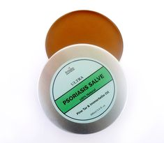 Organic psoriasis remedy butter with Helichrysum essential oils, pine tar & pure beeswax. An all-natural psoriasis treatment cream that provides instant relief from itching skin, psoriasis dry skin. Zero waste skincare, in a recyclable & reusable aluminum jar. Freshly handmade to order by #Driades. Get your PSORIASIS SALVE NOW with FREE INTERNATIONAL SHIPPING  #psoriasistreatmentcream #psoriasisnaturaltreatment #psoriasis #zerowasteskincare #psoriasissalve #skinconditioneczematreatment #etsy Essential Oils For Psoriasis, Helichrysum Essential Oil, Organic Skin Care, Natural Skin Care, Psoriasis Cream, Toner For Face, Vegan Beauty, Psoriasis Remedies, Small Shops