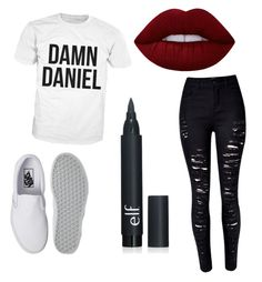 """Untitled #33"" by my-names-ella on Polyvore featuring Vans and Lime Crime"