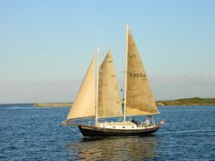 The Windfall II, sailing from Silver Lake Harbor, Ocracoke Island, NC, Oct 2012 by nsphelps56, via Flickr