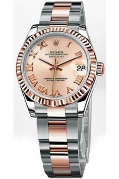 Buy Rolex Date Just lady 31 Automatic Watches for Women#Two Tone Women's Watch#M178271-63161_ Available in PINK ROM at Ethos Watch Boutiques, India-http://tinyurl.com/mspsoq3