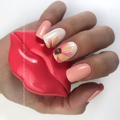 #nails #nailswag #nailstagram #nailsdid #nailsofinstagram #nailsdone #nails2inspire #nailsoftheday #nailsart #nailsalon #nails4yummies #nailsinc #nailsdesign #nailspolish #nailsoftheweek #nailshop #nailstyle #nailsofig #nailsmakeus #nailsaddict Hair And Nails, My Nails, Flower Nail Art, Nails Inc, Nail Shop, Nail Bar, Nail Inspo, Swag Nails, Christmas Nails