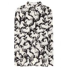 Stella McCartney - Printed silk shirt - mytheresa.com