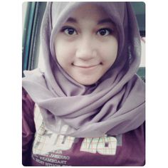 Simple hijab for my daily! SELFIE TIME!