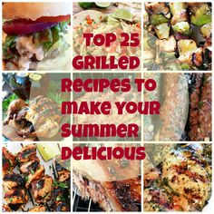 Top 25 grilled recipes to make your summer delicious grilled beef, grilled Bacon On The Grill, Ribs On Grill, How To Grill Steak, Bbq Ribs, Grilled Vegetables, Veggies, Homemade Barbecue Sauce, Barbecue Recipes