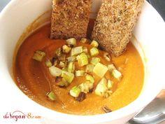 Spicy Zucchini Pepper Soup
