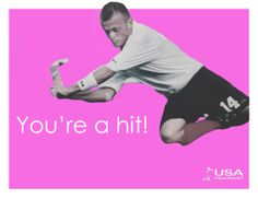 Share the love and the game with our field hockey Valentine's Day cards!