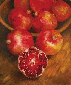 Pomegranates Oil paintings by Isabella Feng http://www.wantchinatimes.com/photo-album-cnt.aspx?id=20130905000060=20130905000070=1401