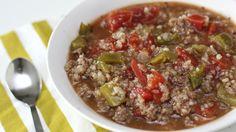 How To Make Stuffed Pepper Soup | Main Dish | Six Sisters Stuff