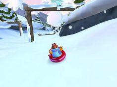 Club Penguin Sled Racer App by Disney