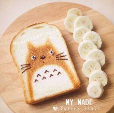 Totoro Toast