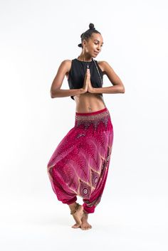 These magical Low Cut Harem Pants can be converted into a jumpsuit. It's like buying one outfit but getting two. They are great for lazy Sundays, doing yoga, or hula hooping at a music festival. Free