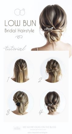 30 Timeless Bridal Hairstyles ♥ If you're still looking for a great hairstyle for your wedding, take a moment to consider these wonderfully simple and elegant styles. #wedding #bride #weddingforward #bridalhair #weddingbuntutorial #tonyastylist