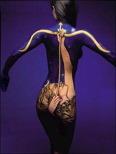 Archer Body Art