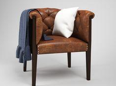 Моделирование и текстурирование кресла, потертая кожа