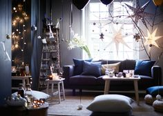 IKEAs 2016 Holiday Collection Is Pure Twinkle Light Magic via Brit + Co
