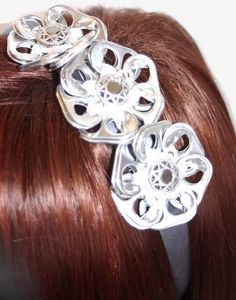 Sure you can wear can tabs in your hair, but why?!?