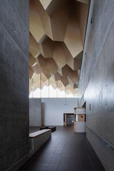 """designbinge: """"  the Miyahata Jōmon Museum by architect Tetsuo Furuichi """""""