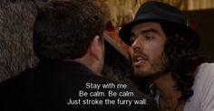 stroke the furry wall...haha