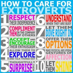 Tumblr Addict - How to care for introverts/extroverts