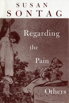"""""""Regarding the Pain of Others"""" by Susan Sontag. A very insightful read, perfect to get the thoughts going and to think about others, especially and simultaneously before yourself."""