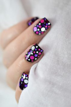 Mardi Gras Nail Art With What Up Nails Berries Confetti