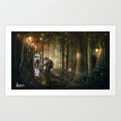 Jagermeister print Art Print by Feelfactory - $17.68