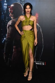 """Elodie Yung Photos - Actress Elodie Yung attends the """"Daredevil"""" Season 2 Premiere at AMC Loews Lincoln Square 13 theater on March 2016 in New York City. - Elodie Yung Photos - 67 of 299 Elodie Yung, Daredevil Season 2, Ludivine Sagnier, Daredevil Elektra, Christine And The Queens, Marvel Comic Universe, French Actress, Beautiful Saree, Classic Outfits"""