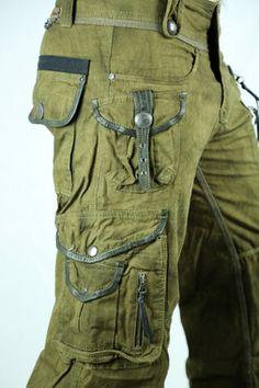 Cargo P. Wade Pants by 14th Addiction - Army- Men's 31 - Verillas