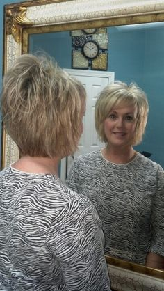 Layered bob with bangs 2013 by; Ann Anglin