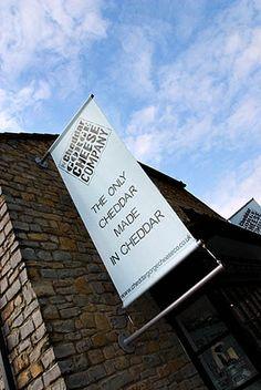 Cheddar Gorge Cheese Shop in Cheddar Somerset England by Mark Sunderland, via Flickr