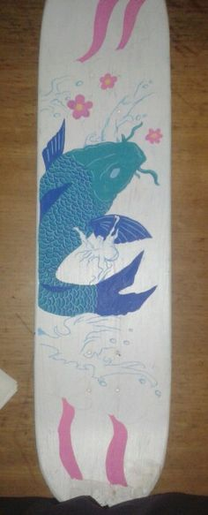 Koi fish on a skateboard(unfinished)