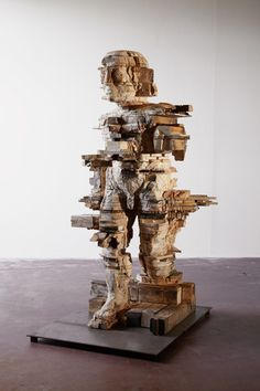 Wood Sculpture, Modern Contemporary, 1, Ceramics, Statue, Abstract, Figurative, Interiors, Ideas