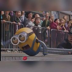 Minions Bob, Minions 2014, Videos, Funny, Character, Robot, Robotics, Funny Parenting, Entertaining